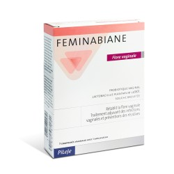 Pileje Feminabiane Flore vaginale 7 comprimés vaginaux + applicateur