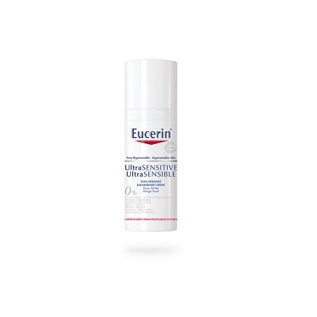 eucerin ultra sensitive soin apaisant peaux normales s ches 50 ml. Black Bedroom Furniture Sets. Home Design Ideas