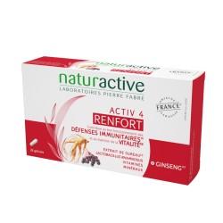 Naturactive Renfort Activ 4 défenses immunitaires et vitalité 28 gélules