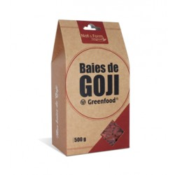 Nat & Form Goji Greenfood 500g