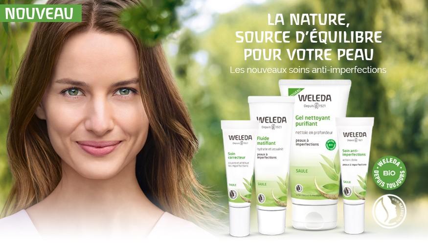 La nature, source d'équilibre de votre peau.