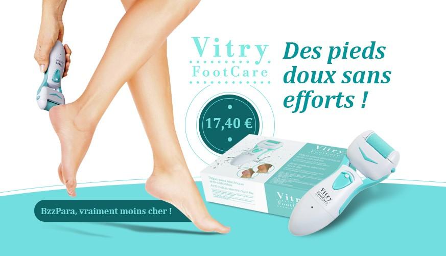 Vitry FootCare, des pieds doux sans efforts !